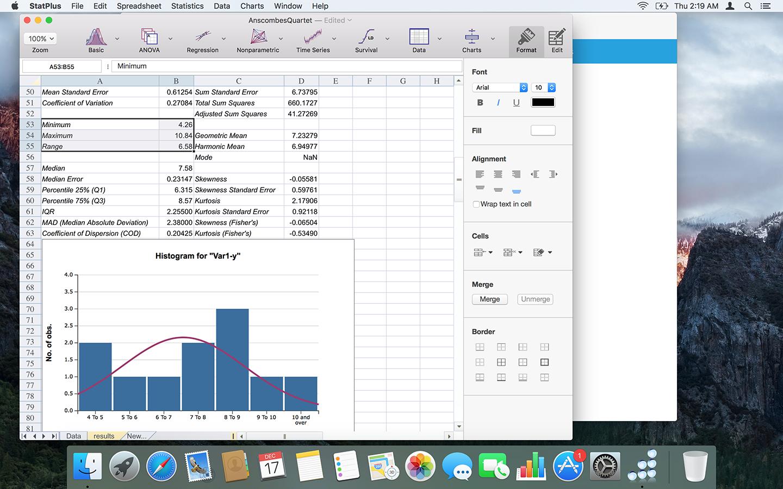 Statistik auf Mac Weise | AnalystSoft | StatPlus:mac | StatPlus ...